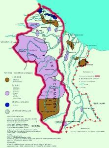 Etnias Indegenas en la Guayana Esequiba Zona en Reclamación