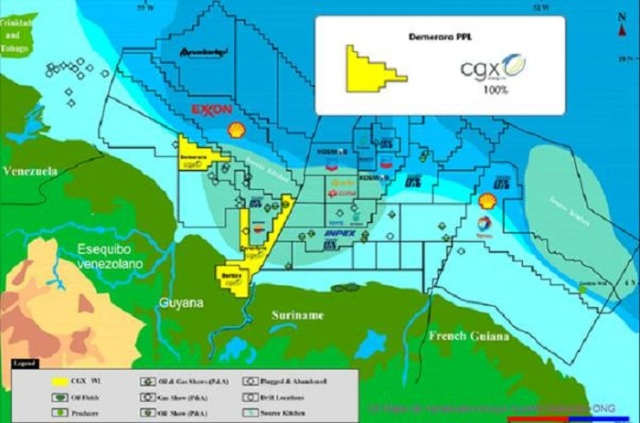 Consecion petrolera canadiense