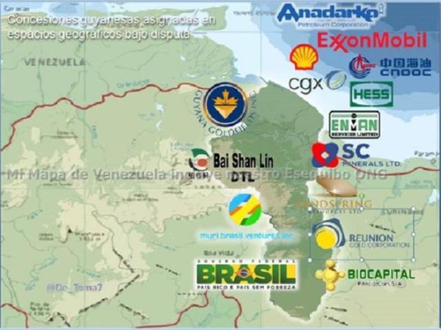 Mapa+de+trasnacionales+en+el+Esequibo