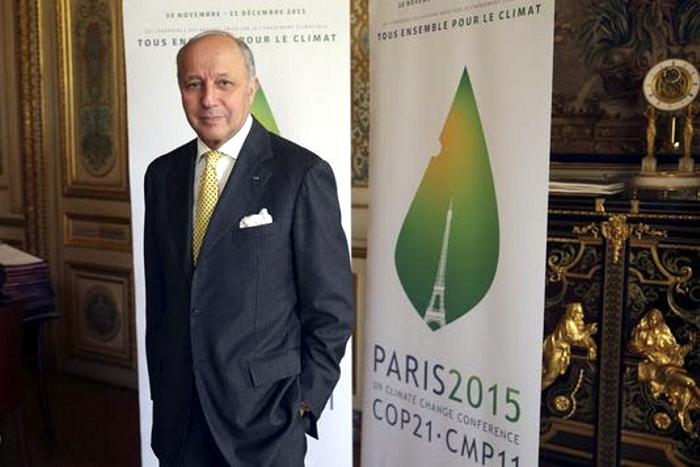 presidente-COP21 Señor-Laurent-Fabius